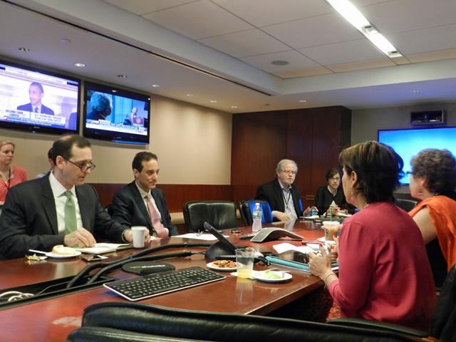 Se reune RRB con el Consejo Directivo de NBC News y de Telemundo en el marco de su participación en el VI Foro Ministerial de Desarrollo del PNUD en Nueva York
