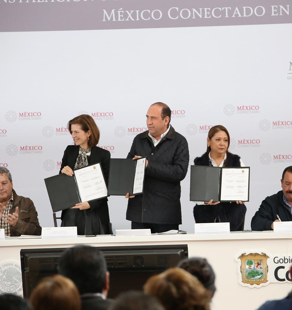 Contribuye México Conectado a cumplir mandato constitucional para garantizar el derecho de internet de todos los mexicanos