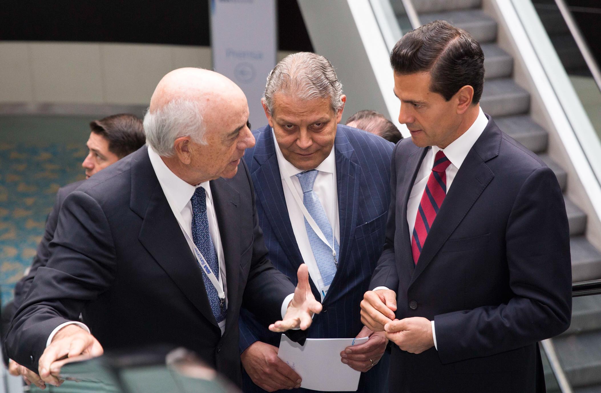 """""""El BBVA Bancomer es el primer banco de México en créditos y en depósitos, y desde esta posición va a seguir acompañando, sin duda, el crecimiento de México"""": don Francisco González Rodríguez, Presidente de Grupo BBVA."""