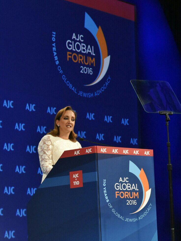 Discurso de la Canciller Claudia Ruiz Massieu, en el Comité Judío- Americano (AJC) Global Forum
