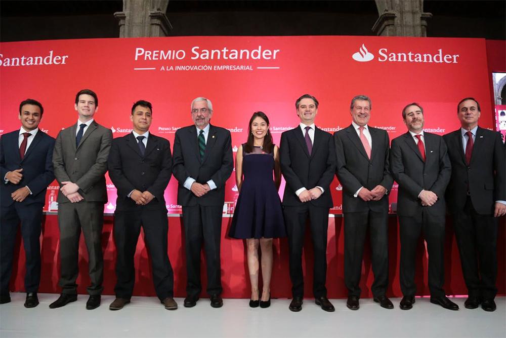 Entrega del Premio Santander a la innovación empresarial