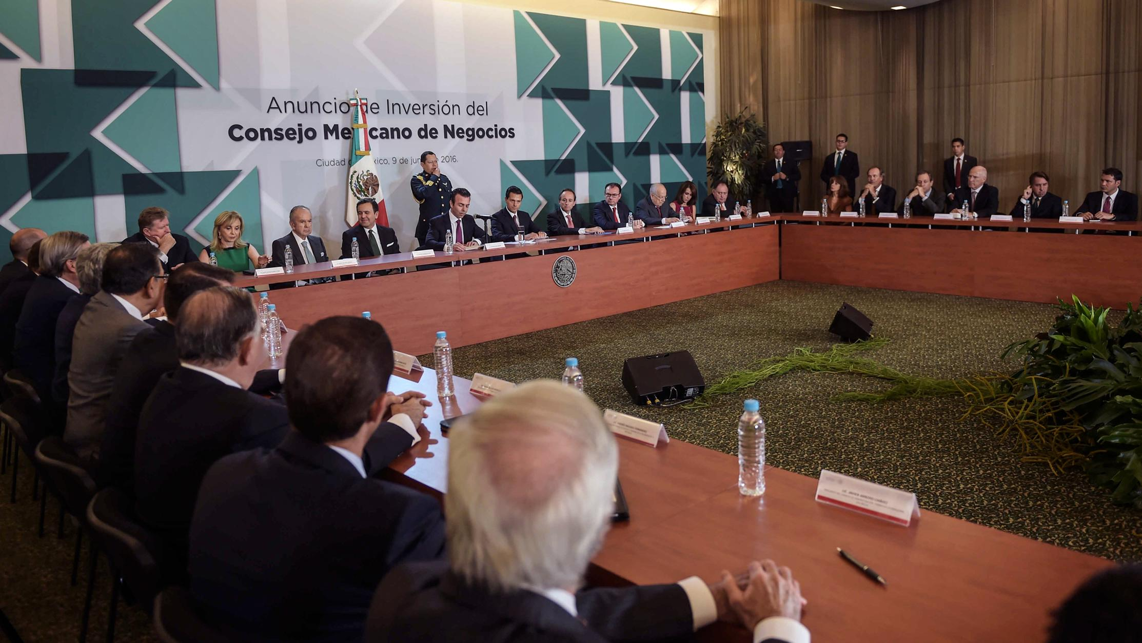 The investment announced today is similar to  the amount of FDI Mexico received last year.