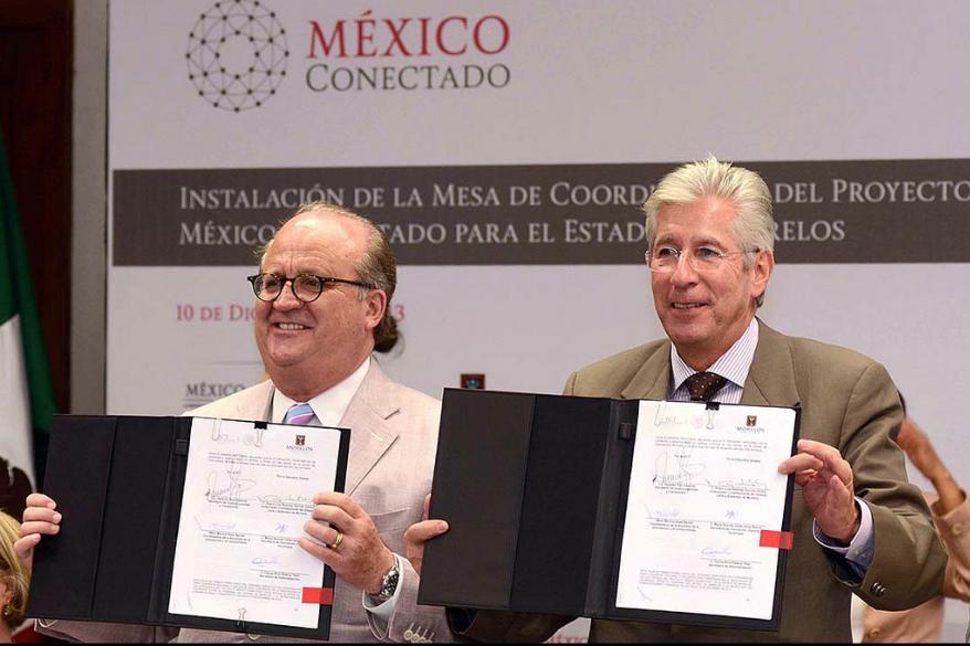 El Secretario de Comunicaciones y Transportes presidió la instalación de  la primera mesa de coordinación del proyecto México Conectado