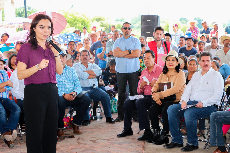 SAGARPA trabaja de manera coordinada con otras  instancias del Gobierno de la República para fomentar la  inclusión de las mujeres al financiamiento.