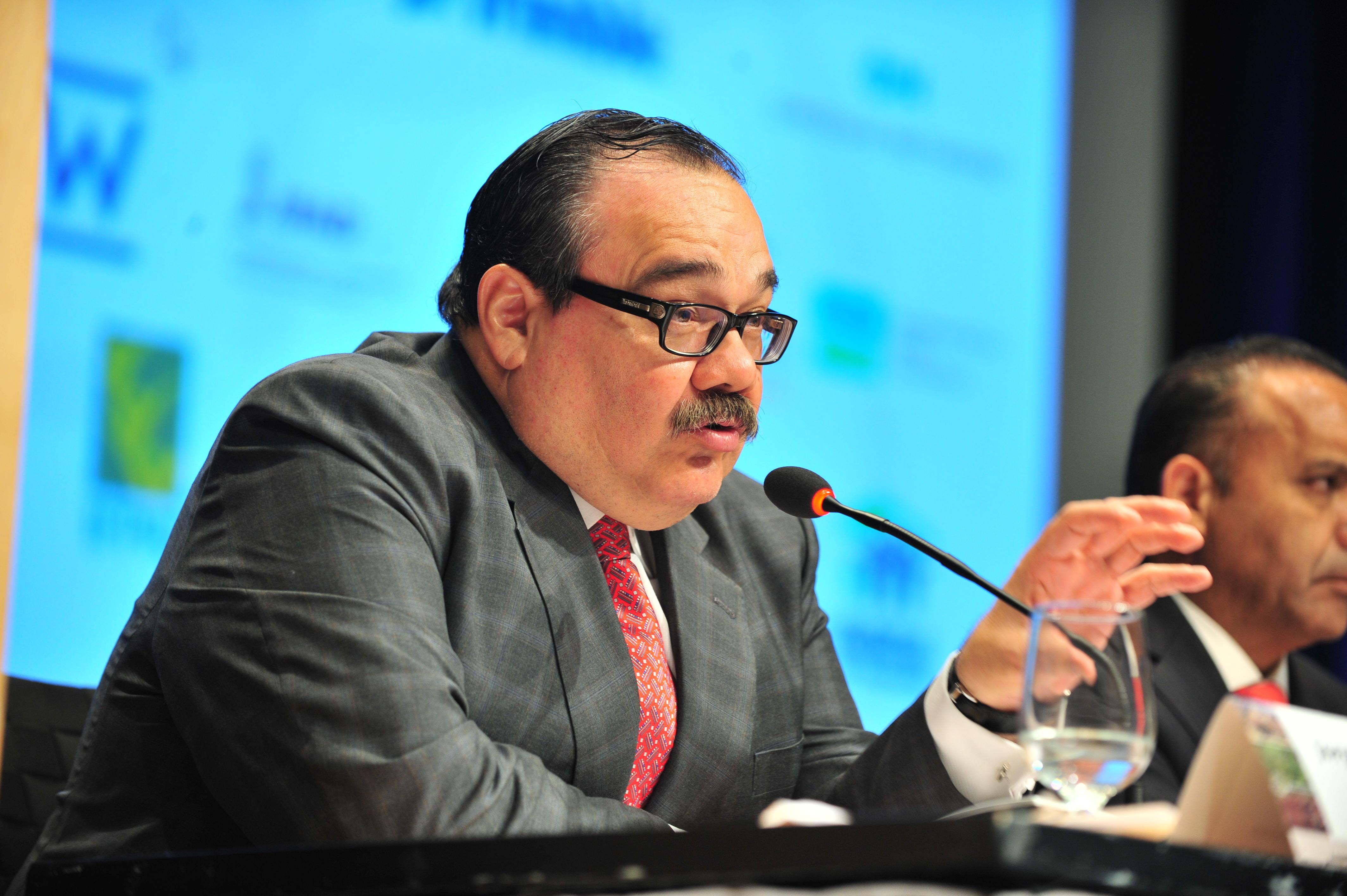 El titular de la Secretaría de Desarrollo Agrario, Territorial y Urbano (SEDATU), Jorge Carlos Ramírez Marín, participó en la Conferencia sobre Tierra y Pobreza organizada por el Banco Mundial, en la ciudad de Washington, Estados Unidos.