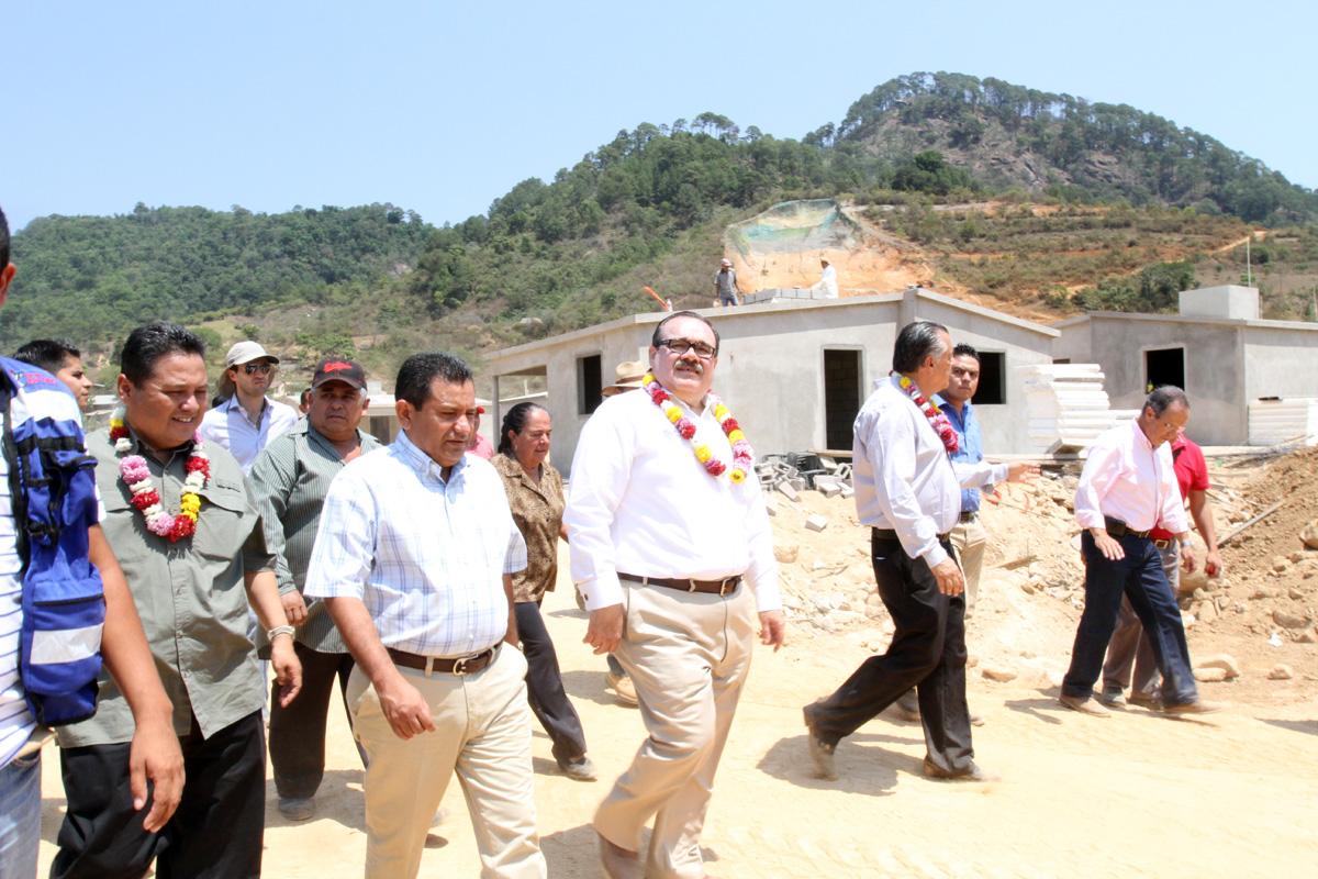 El titular de la Secretaría de Desarrollo Agrario, Territorial y Urbano recorrió las comunidades de La Pintada, El Edén y El Paraíso