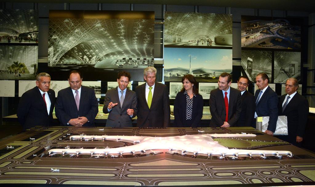 Presentan avances del proyecto arquitectónico del Nuevo Aeropuerto de la Ciudad de México
