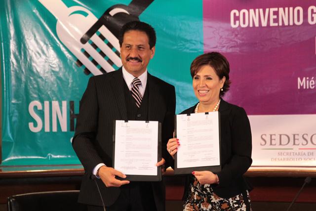 Universidades de Puebla y Guerrero y el Tec de Monterrey se suman a la Cruzada Nacional Contra el Hambre