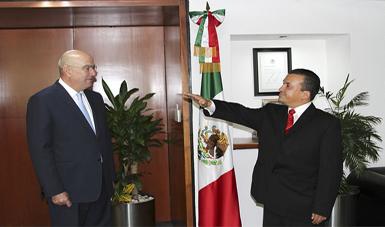 Funes Izaguirre, nuevo delegado de SEMARNAT, QR.
