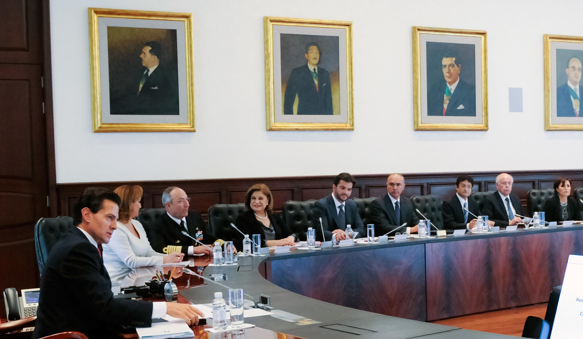 The president hailed the fact that in the June 5 elections, Mexicans expressed themselves in a civic, institutional and peaceful manner.