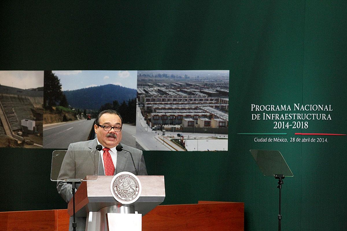 El titular de la SEDATU, Jorge Carlos Ramírez Marín.