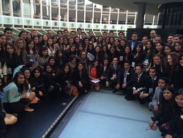 150 jóvenes participaron en Simulardor COP-20