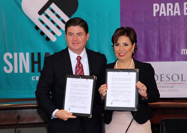 Cuenten con Nuevo León para que la Cruzada sea un éxito y rinda frutos, dice el gobernador Rodrigo Medina de la Cruz