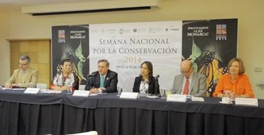 Presentación de la Semana Nacional por la Conservación 2014.