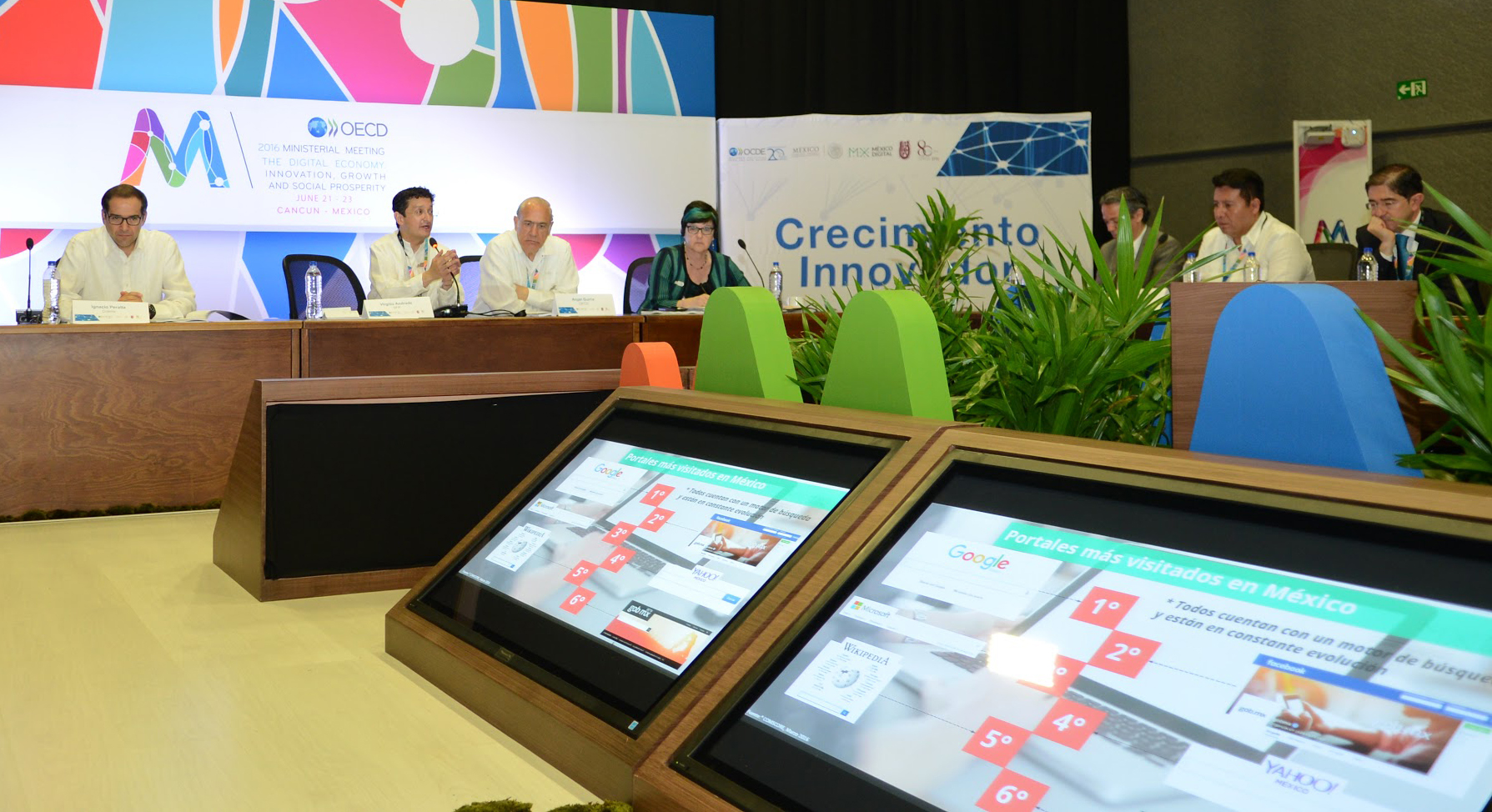 Reunión Ministerial 2016 Economía Digital