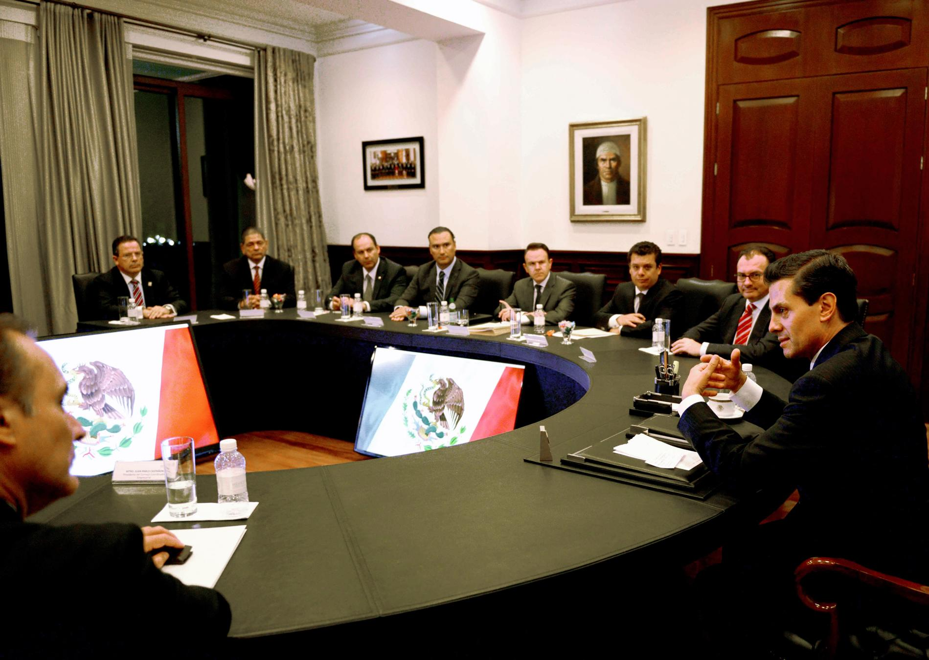 The president met with the CCE in order to discuss the National Anticorruption System and the enormous structural advance this entails.