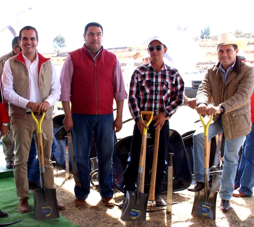 Inicia SCT Programa de Empleo Temporal en Guanajuato en el mes de la Cruzada Nacional Sin Hambre