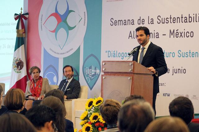 Inician actividades de la Semana de la Sustentabilidad México - Alemania.