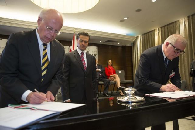 Firma de acuerdo en cooperación turística México y Reino Unido.