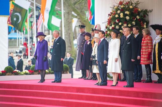 Inicia Enrique Peña Nieto Visita de Estado a Reino Unido.