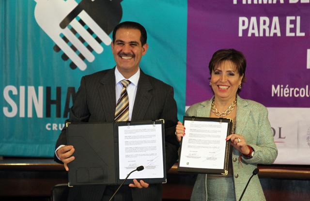 La Sedesol y el Gobierno de Sonora firman Acuerdo Integral para el Desarrollo Social Incluyente – Cruzada Nacional Contra el Hambre.