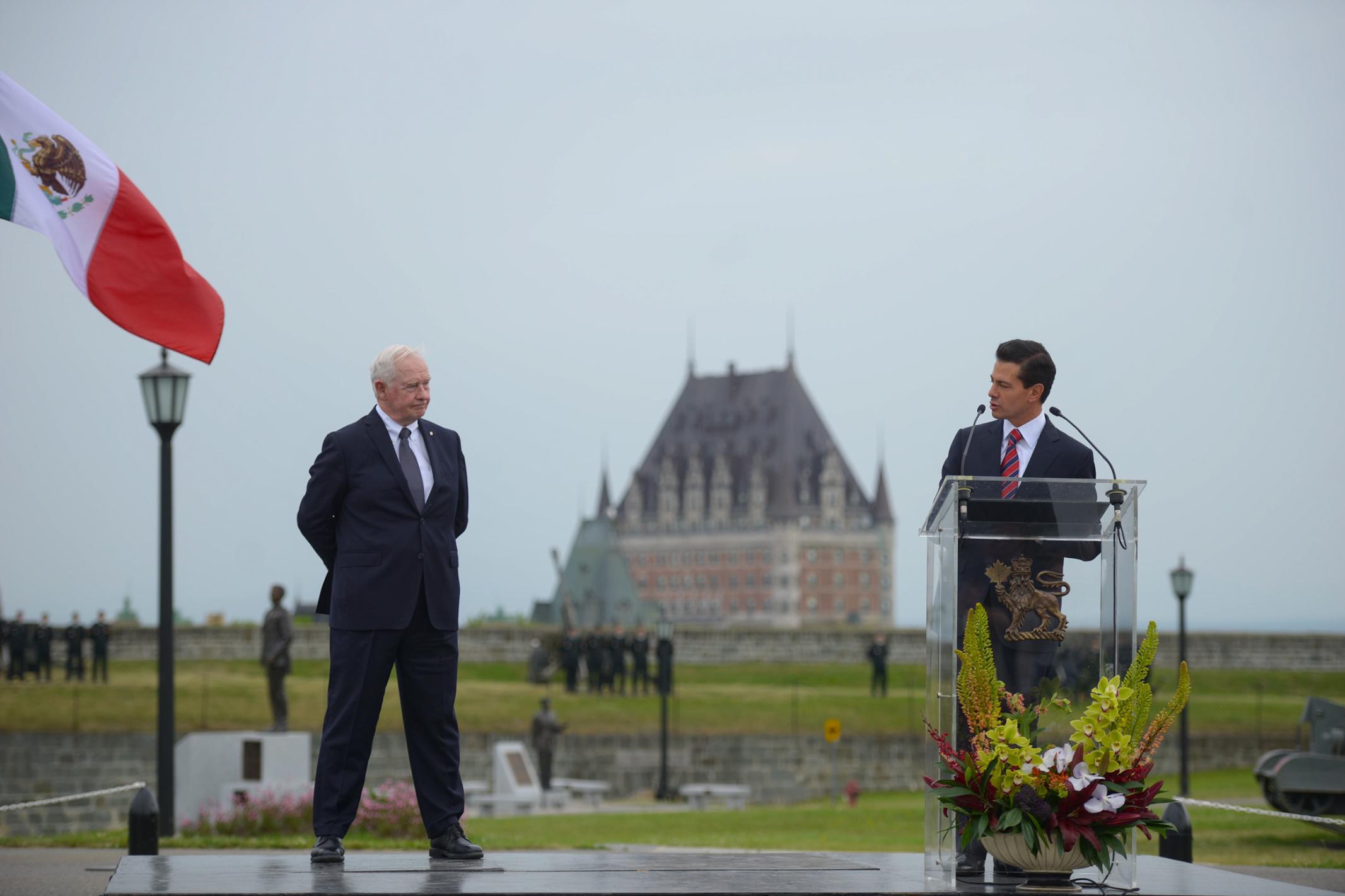 """""""Canadienses y mexicanos compartimos valores y objetivos de desarrollo; compartimos, además, una misma visión sobre el mundo que queremos"""": EPN"""