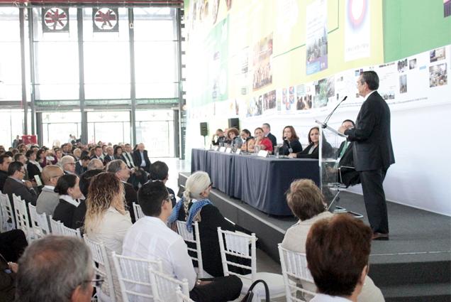 Lacy Tamayo, en representación del titular de la SEMARNAT, inauguró formalmente el Encuentro Nacional de Respuestas al Cambio Climático