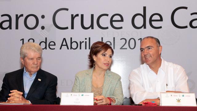 Inaugura Rosario Robles Berlanga  el XI Encuentro Nacional de Bancos de Alimentos.