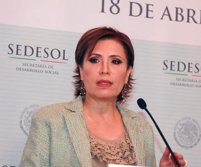 La Sedesol no tolerará ningún acto de esta naturaleza y pide aplicar todo el peso de la ley afirmó Rosario Robles Berlanga