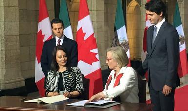 Firma la CDI Memorándum de Entendimiento con el Ministerio de Asuntos Indígenas de Canadá.