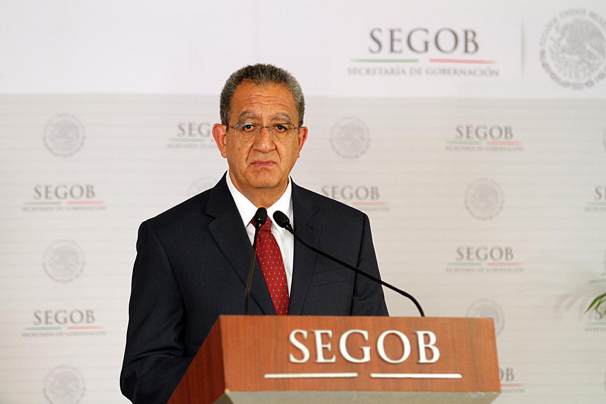 Subsecretario de Desarrollo Urbano y Vivienda, Alejandro Nieto Enríquez.