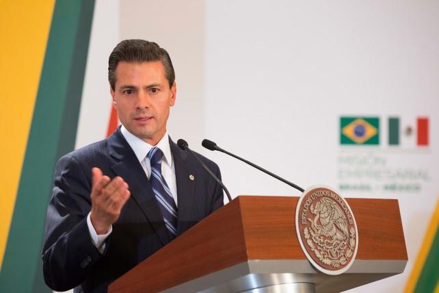 EPN en discurso al finalizar el encuentro empresarial México-Brasil.