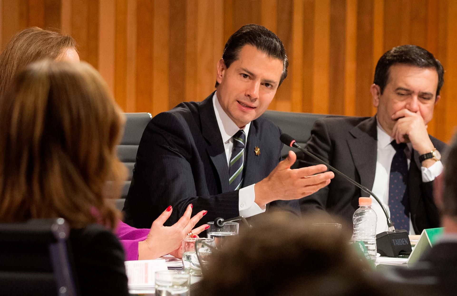 """""""En los últimos 10 años, el comercio entre los integrantes de la Alianza se ha incrementado 39 por ciento"""": EPN"""