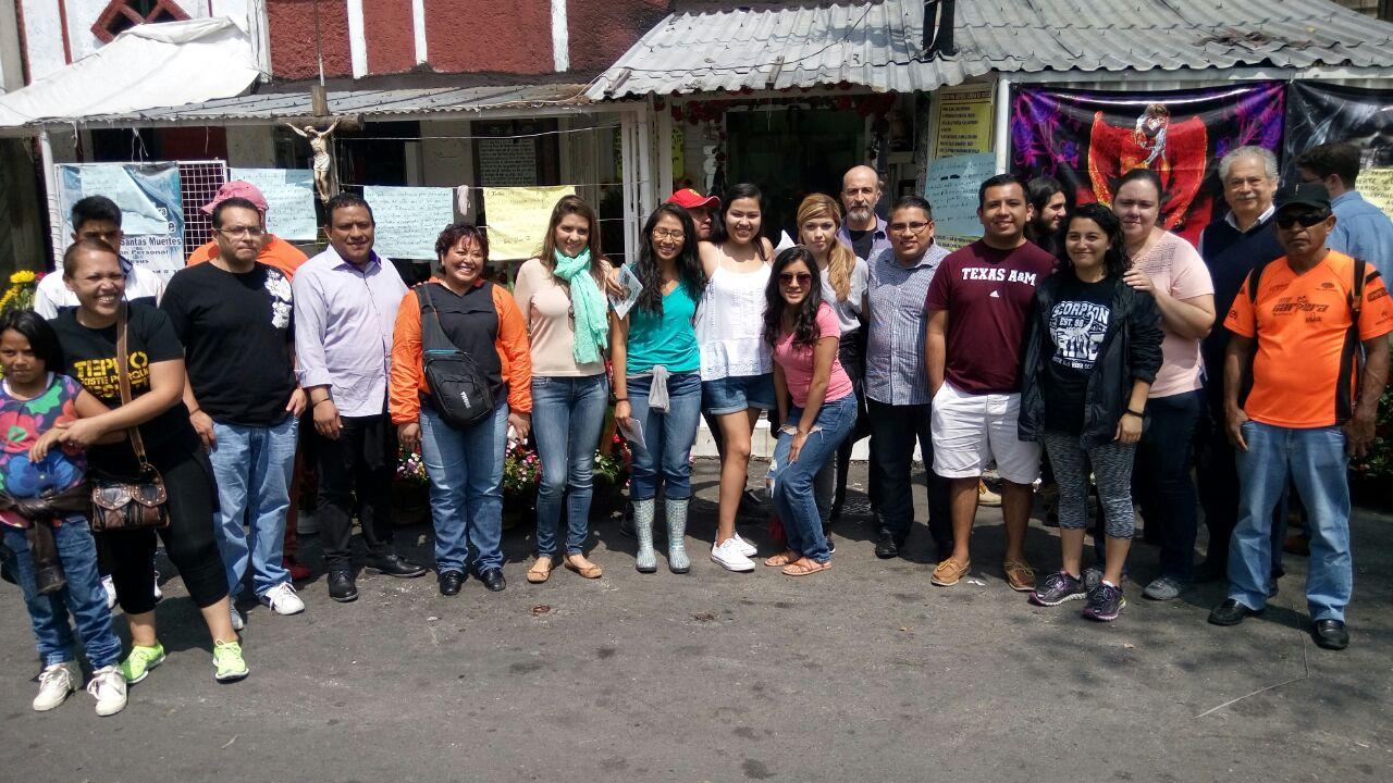 Un grupo de jóvenesdreamersprovenientes de Estados Unidos visitaron y pudieron conocer la otra cara del barrio de Tepito en el centro de la Ciudad de México