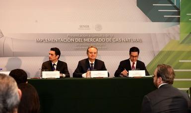 Titulares de la CRE, SENER y CENAGAS