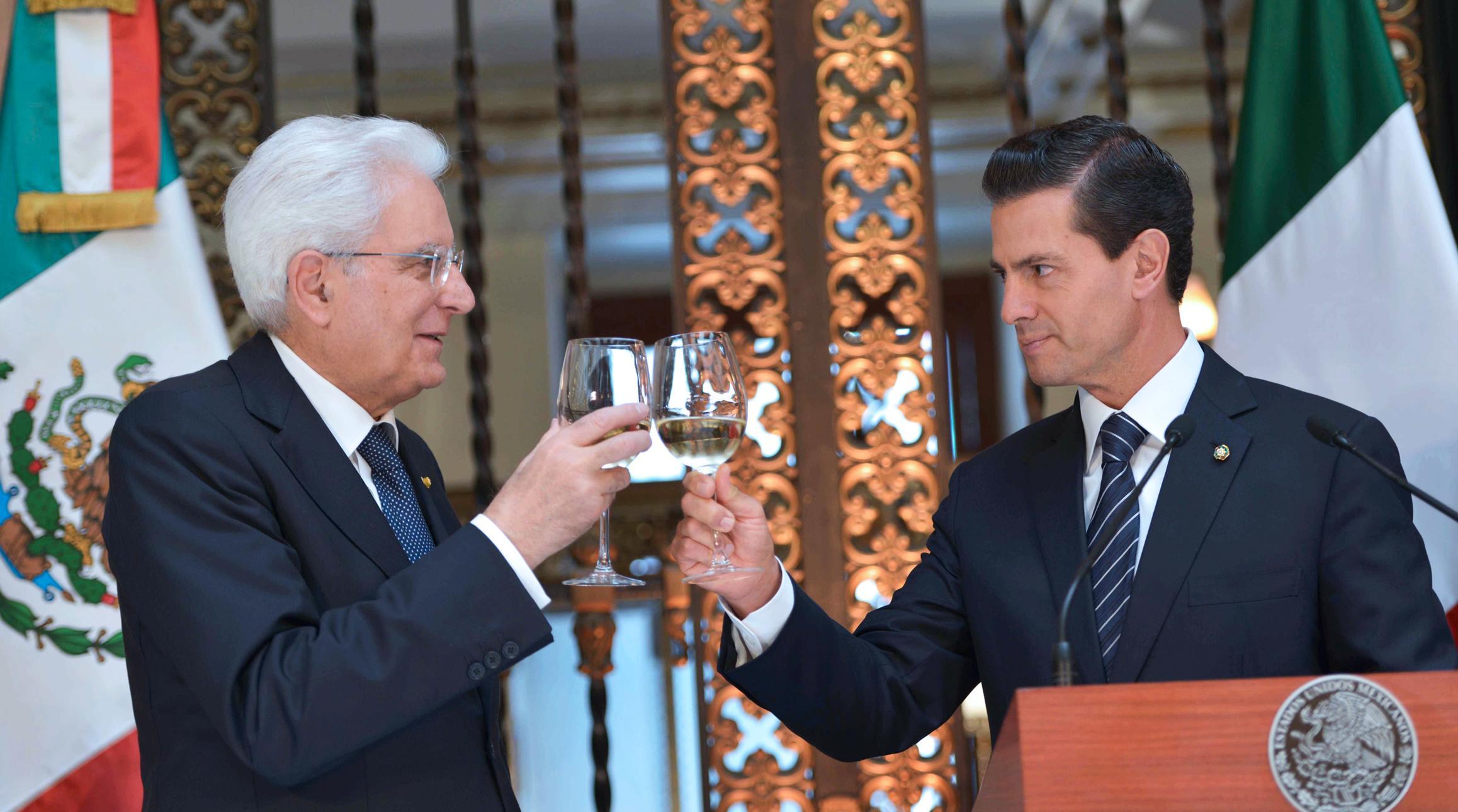 """""""México sabe que cuenta con la amistad de Italia y, de la misma manera, su gran país, señor Presidente, cuenta con el afecto del pueblo de México"""": EPN"""