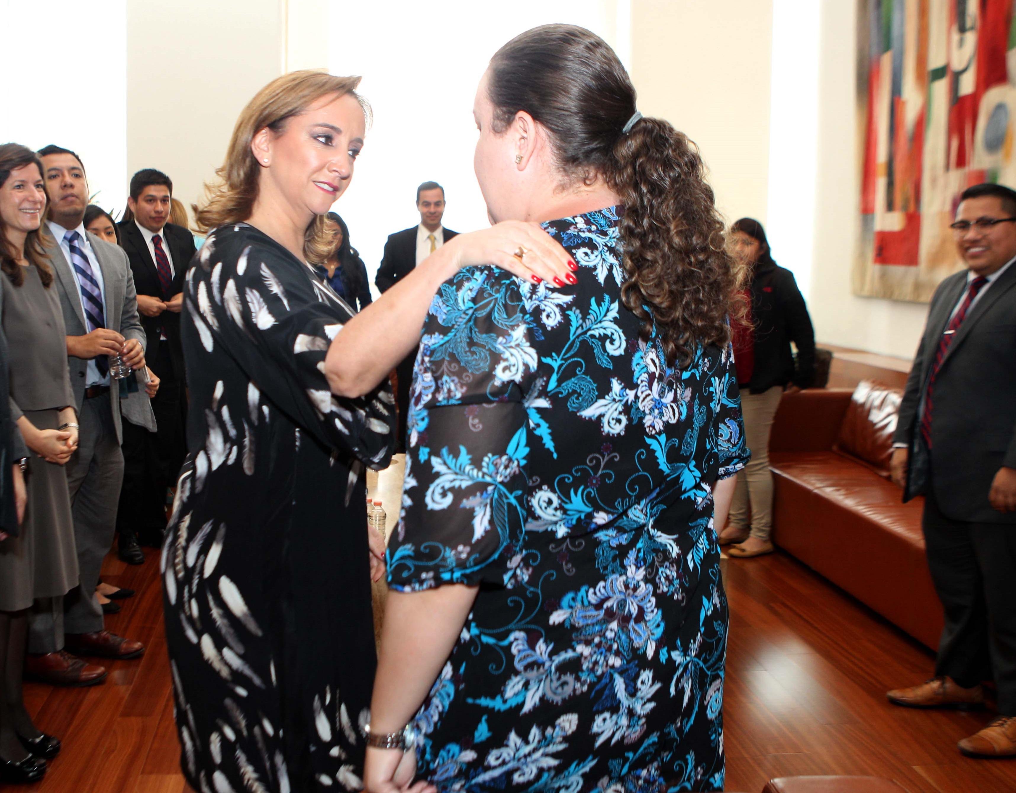 Canciller Ruiz Massieu se reúne con jóvenes Dreamers