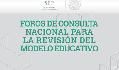 Se han llevado a cabo cinco foros regionales de consulta.