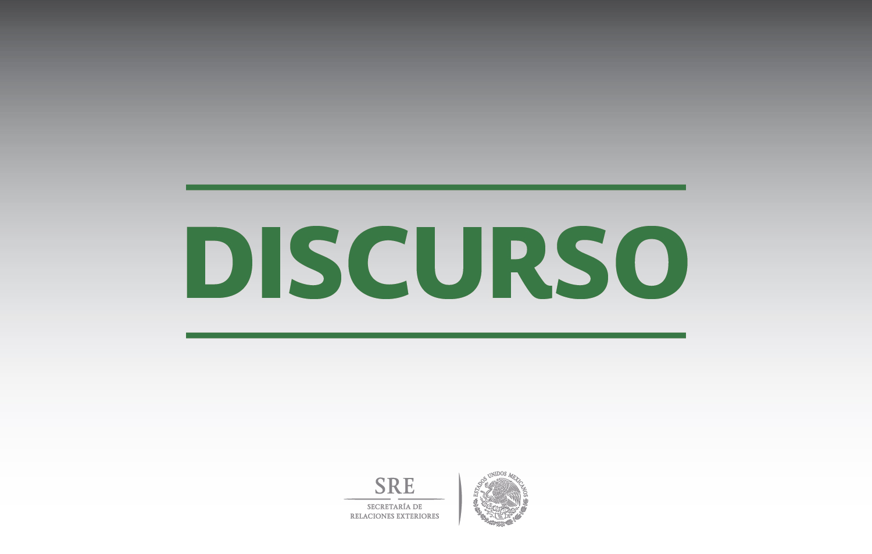 """Mensaje de la Secretaria de Relaciones Exteriores, Claudia Ruiz Massieu, en la firma de convenio SRE-SEGOB """"Somos Mexicanos"""""""