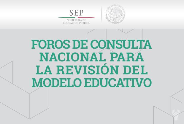 Foro Regional de la Consulta Nacional para la Revisión del Modelo Educativo sobre Educación Normal correspondiente a la Región 6 integrada por los estados Chiapas, Oaxaca, Quintana Roo, Tabasco, Yucatán y el estado sede.