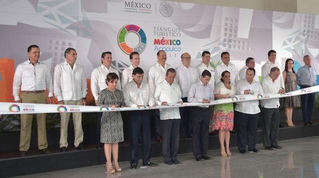 EPN inaugura el Tianguis Turístico 2016.