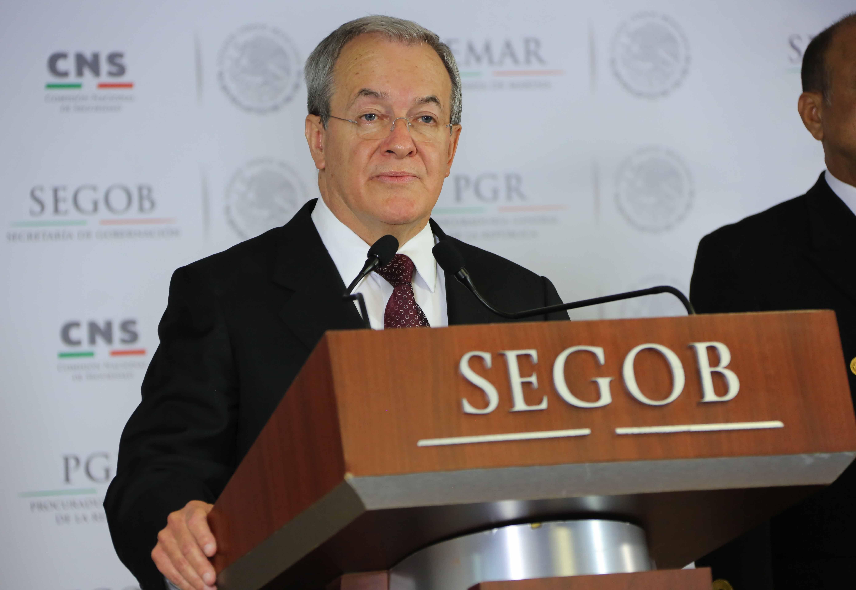Comisionado Nacional de Seguridad Monte Alejandro García Rubido, en mensaje a medios, sobre detención de David Aroon Espinoza Haro