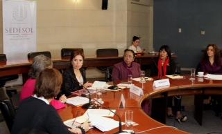 Las Mujeres Jefas de Empresa se reunieron con la secretaria Rosario Robles para presentar propuestas.