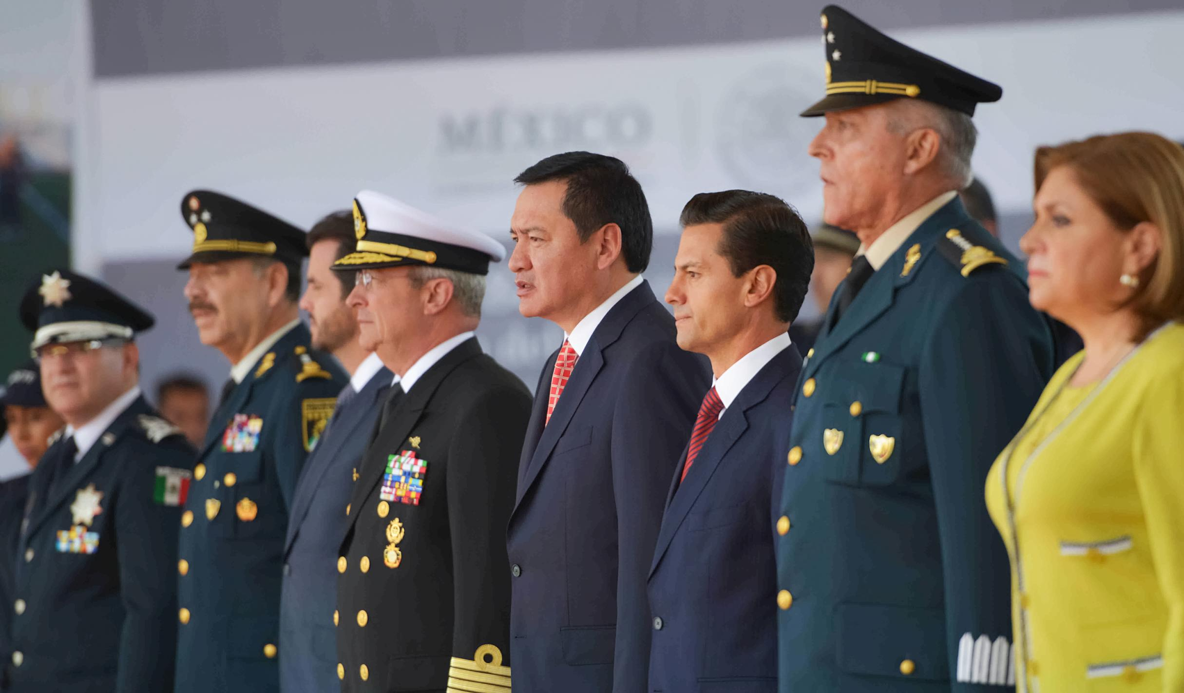 The president led the commemoration of Federal Police Day and the 88th anniversary of this police corporation.