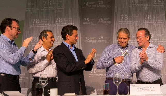 Clausura de la 78 Convención Bancaria.