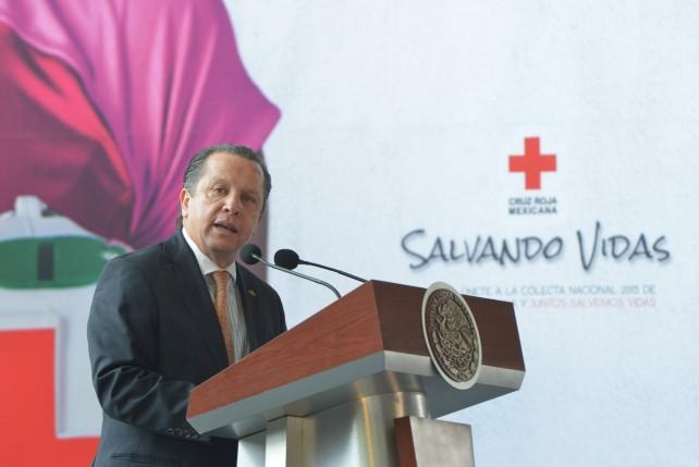 Inicia Colecta que enmarca en la Conmemoración del 105 Aniversario de la Cruz Roja Mexicana.