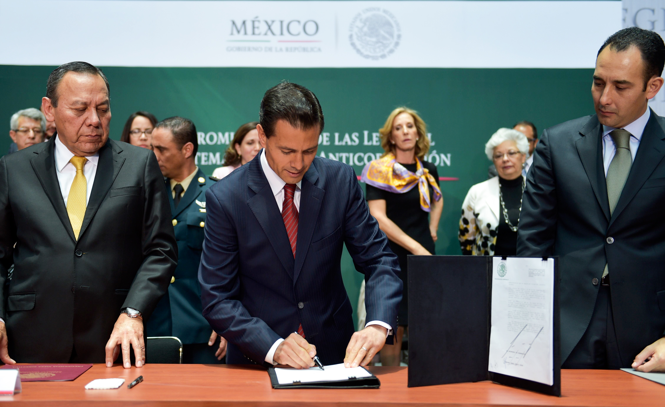 """I am sure that this system will constitute a watershed in Mexico"", he declared."