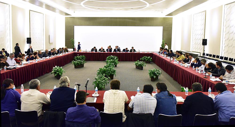 Participan Representaciones de SEGOB y SEP en Mesa de Diálogo con CNTE