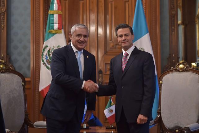 Mensaje a medios de comunicación que ofreció el Presidente de la República de Guatemala, Otto Pérez Molina, en el marco de su Visita Oficial.