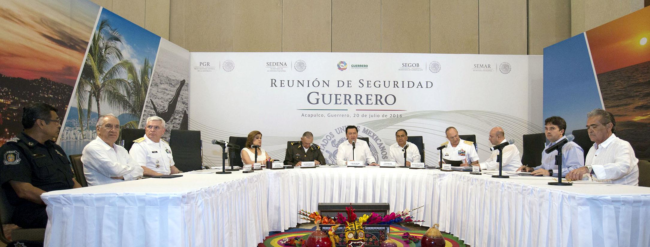 Reunión de Seguridad Guerrero